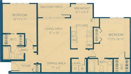 For rent apartment floor plans manassas va battery heights apartments 2 bedroom den two bath for 2 bedroom apartments in manassas va