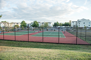 Tennis Courts battery heights