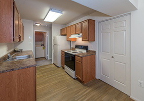 upgraded kitchen rental